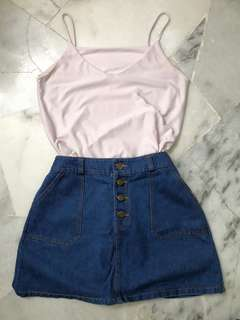 Denim skirt from Taiwan