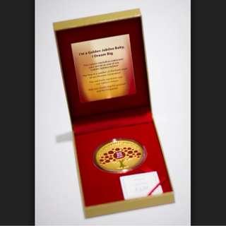 SG50 jubilee baby medallion