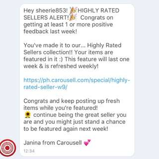 Highly Rated Seller 🎉