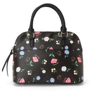 Japan Sanrio Hello Kitty Boston Bag (Flower)