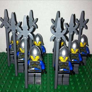 LEGO Castle-Lion Knights with Spike Spear