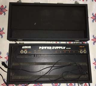 ARION Pedalboard/Flightcase/Power Supply