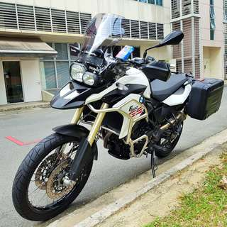 BMW F800GS  Reg date 18/02/2013 Mileage 23,300 PML Bike