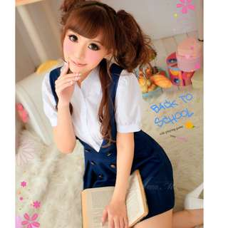 ON SALE Product Code: HK1110277 Layla Lingerie Cosplay, Costume, Uniform, Party, Hallewoon, Xmas, 制服, 制服派對,