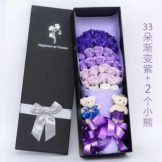 Valentine Flower/Soap Flower