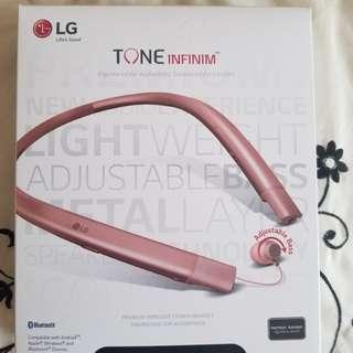 LG Rosegold Bluetooth