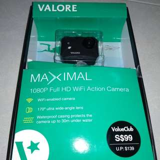 Valore Maximal 1080P full HD Wifi action Camera