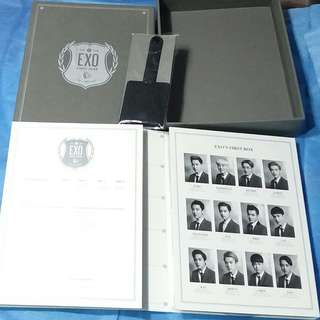 Exo Dvd First Box 4 dvd