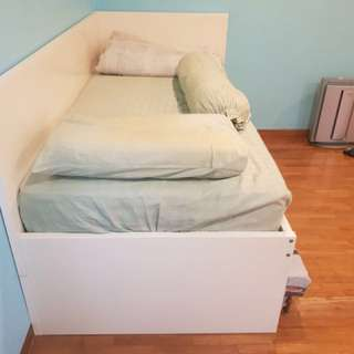 Free IKEA used single bed (frame only)