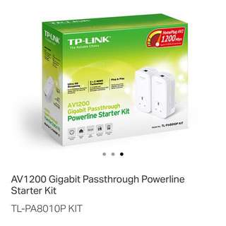 TP Link Powerline Starter Kit