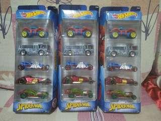 Hotwheels spiderman edition