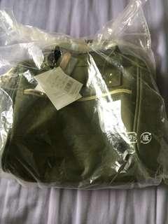 BN Anello navy green mini bag