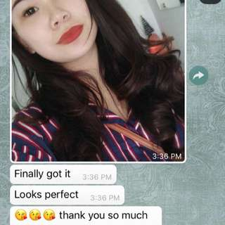Feed back from Customer♥️
