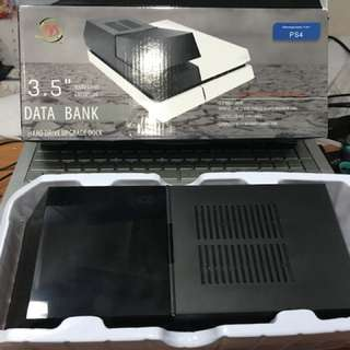 PS4 HDD extender data bank 3.5inch upgrade dock