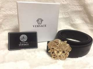 New wingedmedusa VERSACE leather belt!