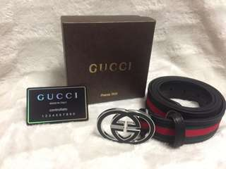 New Gucci leather belt !