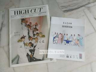 Seventeen High Cut & Clean Pamphlet