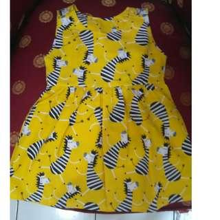 Preloved Mini dress Anak