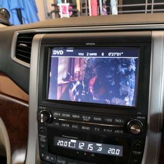 Vellfire 2010 original player