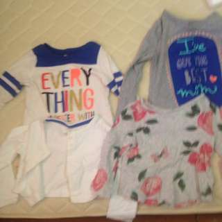Long sleeve tops - assorted