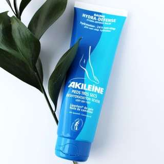 Akileine 24hour hydration foot cream