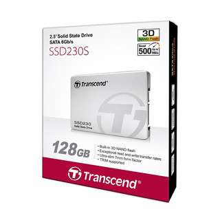 BNIB - Transcend SSD230S 3D NAND Flash 128GB