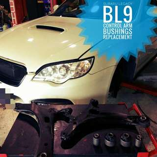 Subaru Legacy BL9: Lower_Control_Arm_Bushing replacement