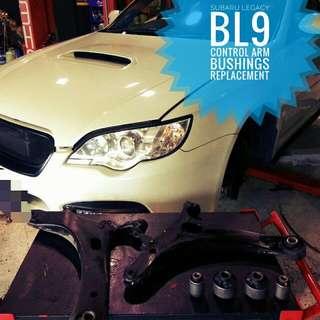Subaru Legacy BL9: Lower_Control_Arm_Bushing replacement