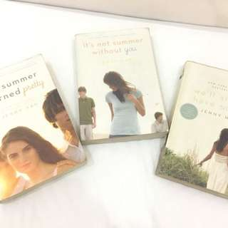 FREE SHIPPING & SOLD AS SET: Jenny Han's Summer series