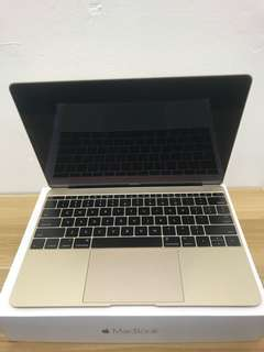 MacBook 12-inch notebook with Retina display