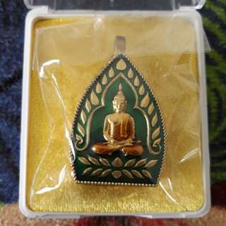 Thai Amulet Wat Klang BangKaew Lp Kong Be2560 ChaoSua/Biagae/Rahu