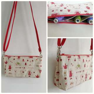 Red hair Annie sling pouch