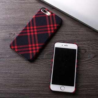 全新英倫格仔iphone case (iphone 7,8/iphone 7plus/8plus)