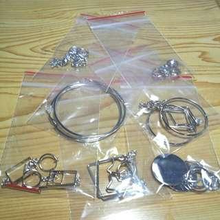各式夾式耳環