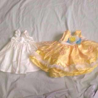 Bundle Of Baptismal and Reception Dress/Gown