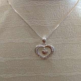 925 italy tiffany necklace
