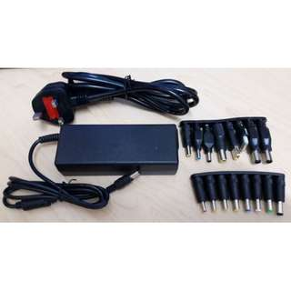Universal Power Adapter For Notebook - 19V, 90W (Asus / Hp / Lenovo / Acer / Dell / Sony / Toshiba / Etc)
