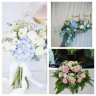Solemnisation Package - Fresh flowers