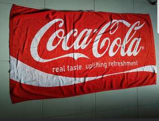 Coca Cola Bath Towel