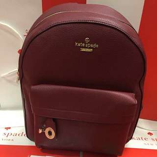 Brand new! Authentic Kate Spade leather Backpack Bag