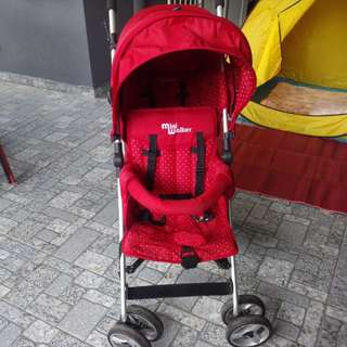 Mini walk double stroller