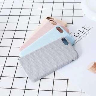 全新斜紋布iphone case (iPhone 7plus/8plus)