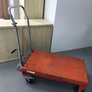 Hydraulic lift trolley heavy duty industrial