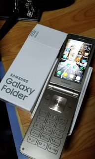SAMSUNG  Galaxy Folder接機可以鐲按屏幕