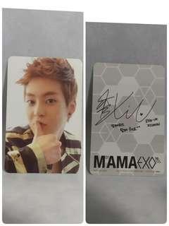EXO M CD MAMA+ 小卡Xiumin