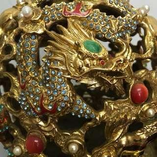 Revolving Zodiac Treasure Trove-Antique