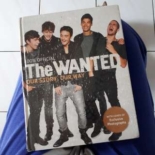 The Wanted Merchandise Photobook