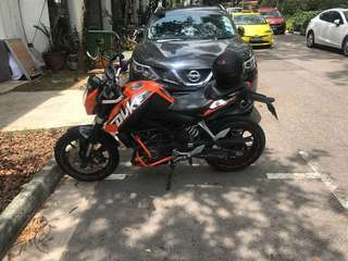 KTM 200 Duke in top notch condition