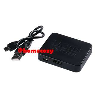 (BNIB) 4K HDMI Splitter / Amplifier 1x2 (1 In 2 Out) (Brand New Boxed)