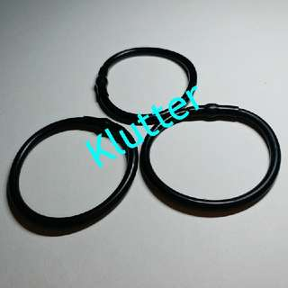 Klutter $5 - 4 Pcs Hair Tie Elastic Bands Head Accessories Non Slipping Girls Ladies